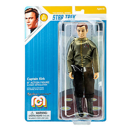 Mego Action Figure, 8 in. Star Trek - Kirk - Dress Uniform (Limited Edition Collector's Item), 62880