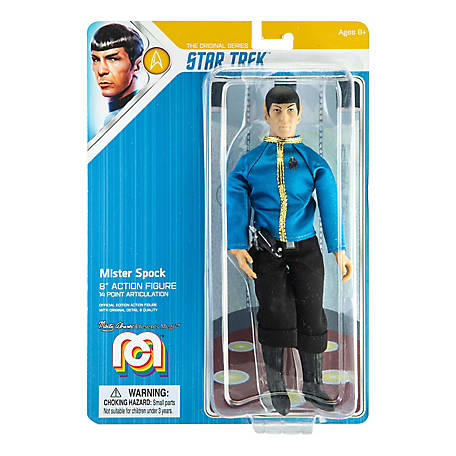 Mego Action Figure, 8 in. Star Trek - Spock, Dress Uniform (Limited Edition Collector's Item), 62881
