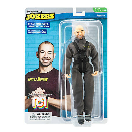 Mego Action Figure, 8 in. Impractical Jokers - Murr, Jumspuit (Limited Edition Collector's Item), 62802