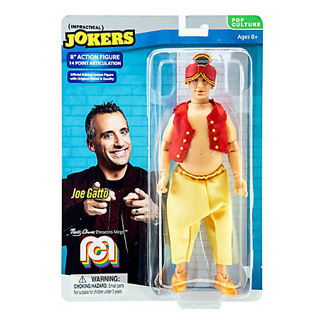 Mego Action Figure, 8 in. Impractical Jokers - Joe Gatto, Genie (Limited Edition Collector's Item), 62803