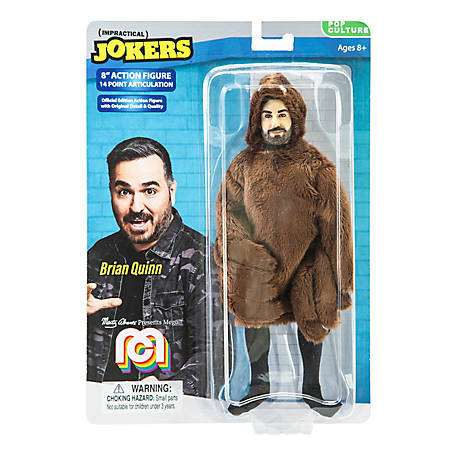 Mego Action Figure, 8 in. Impractical Jokers - Brian Q, Spider Suit (Limited Edition Collector's Item), 62805
