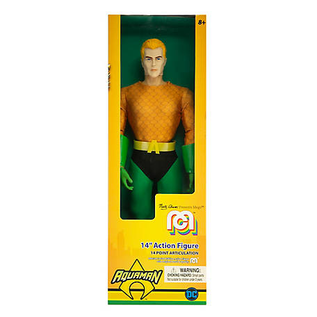 Mego Action Figure, 14 in. DC Comics Aquaman - Classic (Limited Edition Collector's Item), 62733