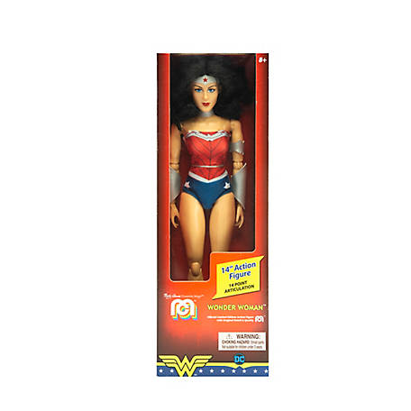 Mego Action Figure, 14 in. DC Comics Wonder Woman 52 (Limited Edition Collector's Item), 62818