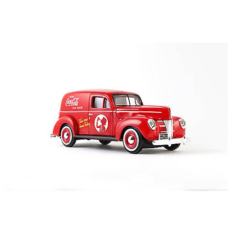 Coca-Cola 1/24 Scale 1940 Ford Diecast Delivery Van (Collectible Toy Vehicle), 424194