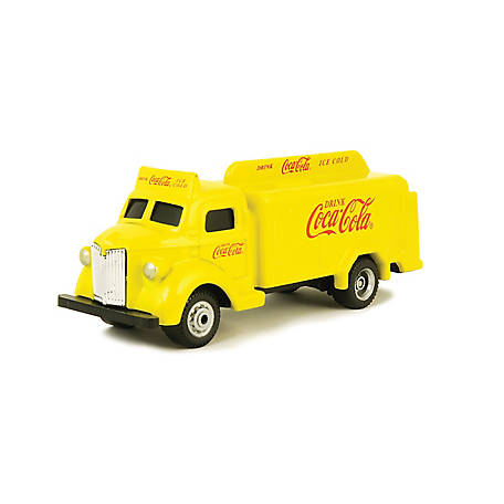 Coca-Cola 1/87 Scale 1947 Coca-Cola Bottle Diecast Truck - Yellow (Collectible Toy Vehicle), 439954