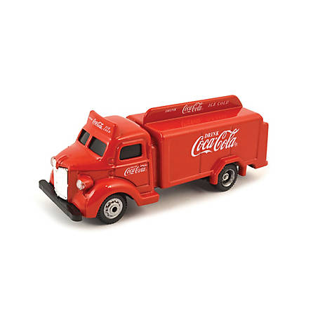 Coca-Cola 1/87 Scale 1947 Coca-Cola Bottle Diecast Truck- Red (Collectible Toy Vehicle), 440537