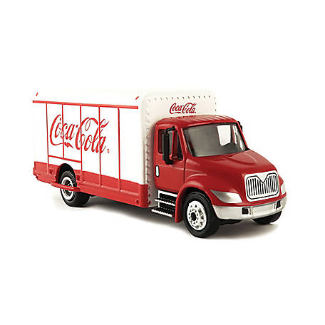 Coca-Cola 1/87 Scale Beverage Delivery Diecast Truck with Metal Body and Chassis (Collectible Toy Vehicle), 870001