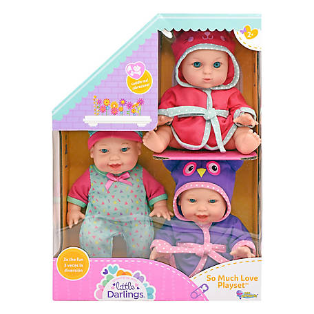 Little Darlings So Much Love Toy Baby Doll Play Set, 5928