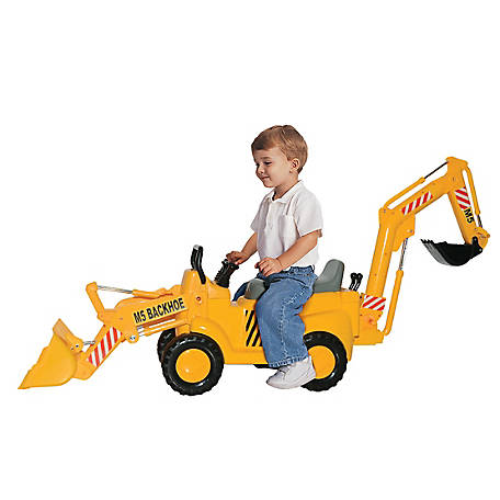 Skyteam Technology Skyteam Technology M5 Construction Front End Loader & Backhoe Action Ride-on, 89898