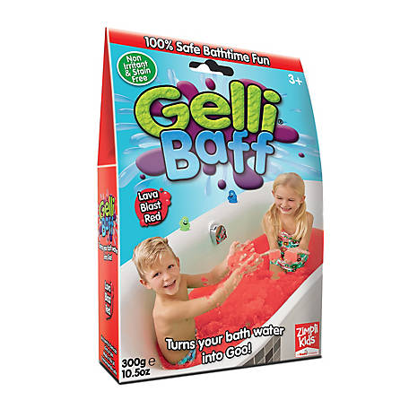 Zimpli Kids Red Gel Bath Gelli Baff, 1 Use, 300g, 5004