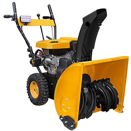 Massimo 24 in. 196CC Electric Start Gas Snowblower, SNBL-MS624
