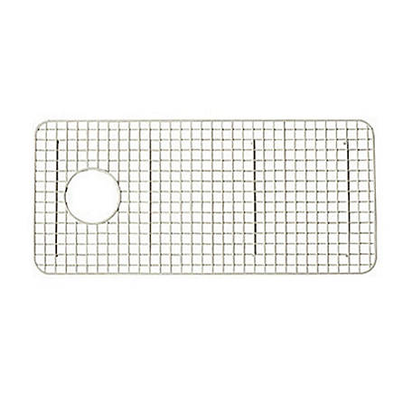 ROHL Wire Sink Grid for Shaws Original Lancaster Single Bowl Farmhouse Apron Front Fireclay Kitchen Sink, Biscuit, RHL-WSG3618BS