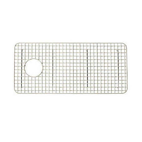 ROHL Wire Sink Grid for Shaws Original Lancaster Single Bowl Farmhouse Apron Front Fireclay Kitchen Sink, White, RHL-WSG3618WH