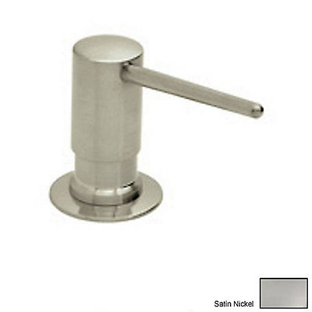 ROHL Lux Soap/Lotion Dispenser, Satin Nickel, RHL-LS750LSTN