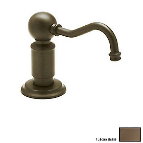 ROHL Traditional Style Soap/Lotion Dispenser, English Bronze, RHL-LS850PEB