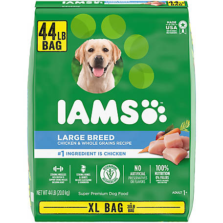Iams ProActive Health Chicken Large Breed Dry Dog Food, 44 lb. Bag