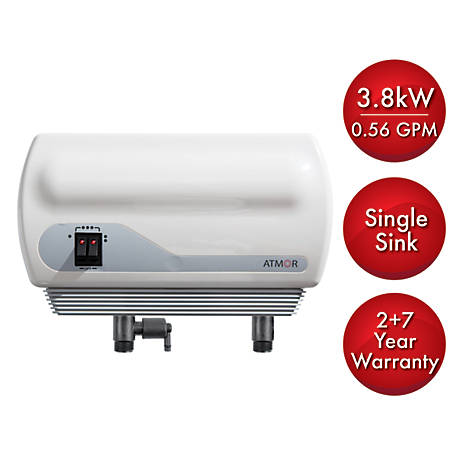 ATMOR 3.8 kW Electric Tankless Water Heater, AT900-04