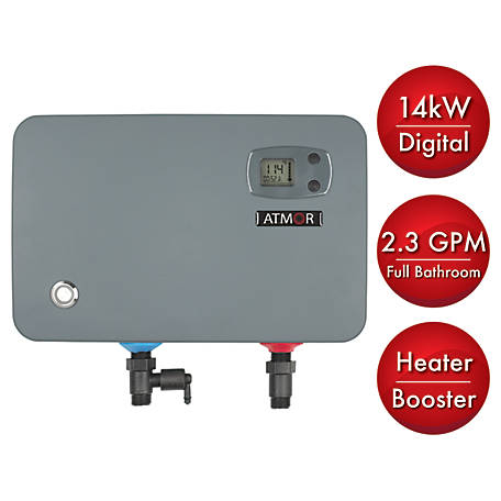 ATMOR 14 kW ThermoBoost Electric Tankless Water Heater, AT-905-14TB