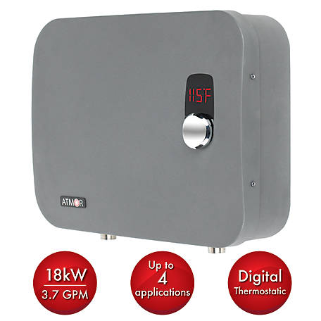 ATMOR 18 kW Electric Tankless Water Heater, AT-910-18TP