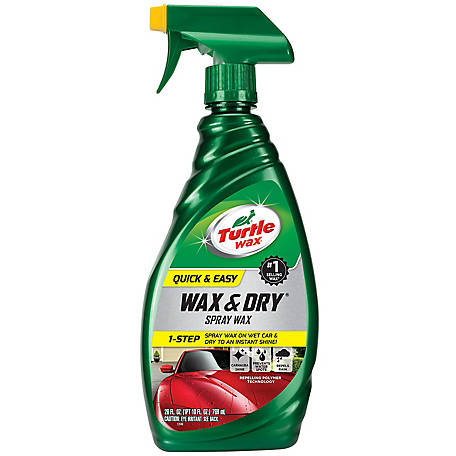 Turtle Wax Quick And Easy Wax And Dry, T9