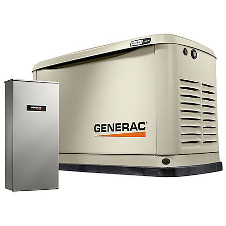Generac 7178 - Guardian 16kW Home Back Up Generator with Whole House Switch, WiFi-Enabled, 7178