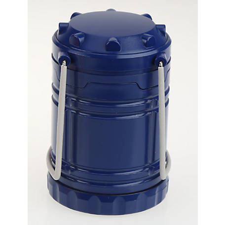 Olympia 300 Lumens COB Collapsible Lantern, Navy, 703-129A-101