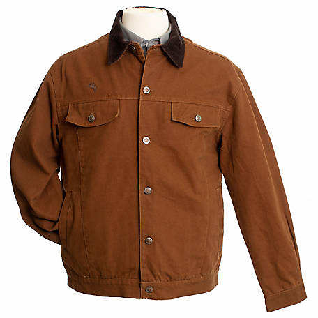 Wyoming Traders Mens Cotton Canvas Concealed Carry Chisum Jacket