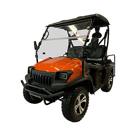 Bighorn Homestead HLG 200 UTV 4 Passenger, Orange, TSC-CUV:200-GVXL-ORANGE