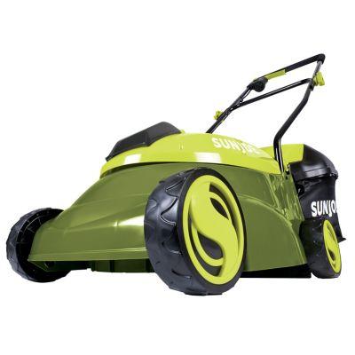 Sun Joe 14 in. 28 Volt Max Lithiumion 5 Amp Cordless Lawn Mower, MJ401C-XR