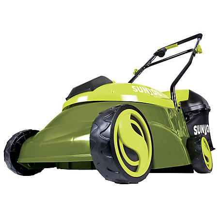 Sun Joe 14 in. 28 Volt Max Lithiumion 5 Amp Cordless Lawn Mower, MJ401C-XR