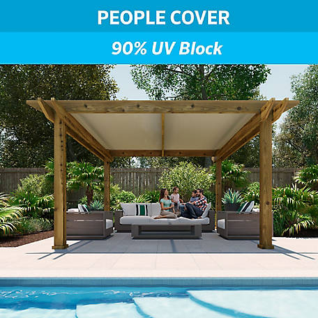 Coolaroo 90% UV Block Shade Fabric, 6 ft. x 50 ft., 457839