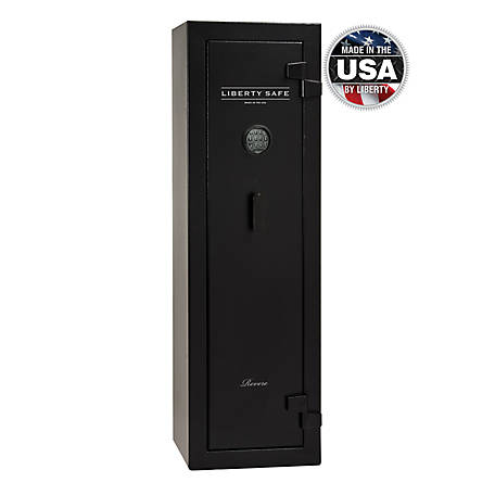 Liberty Safe Revere 12 Gun, 30 Minute Fire Rating, E-Lock, RV12-BKT-E
