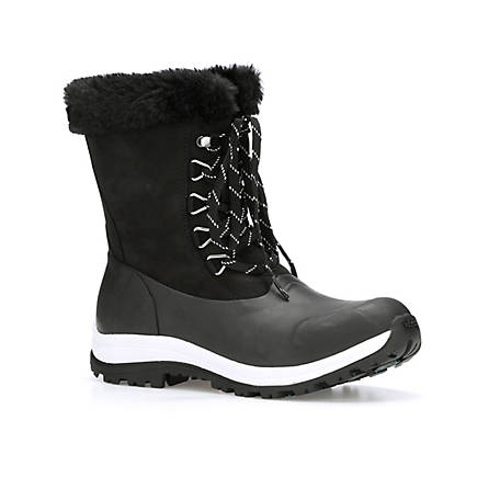 Muck Boot Company Women's Apres Lace Up Arctic Grip Boot, WALV-000