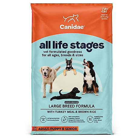 CANIDAE All Life Stages Large Breed Turkey & Rice, 50 lb.