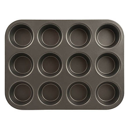 Range Kleen Muffin Pan, Non-Stick, 12 Cup, B14M12