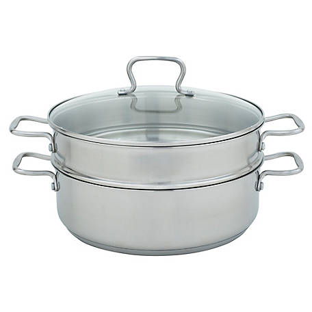 Range Kleen Specialty 7 qt. Mega Pan with Steamer, CW7101
