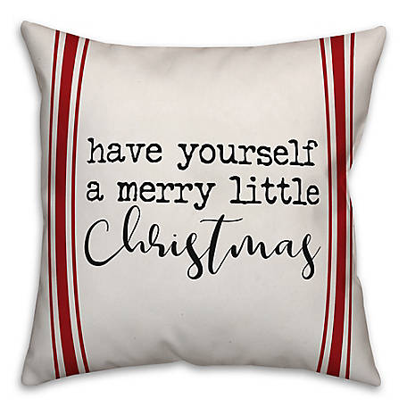 Designs Direct Christmas 18 in. x 18 in. Throw Pillow, 5821-AJ2