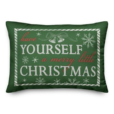Designs Direct Have Yourself A Merry 14 In X 20 In Winter Accent Throw Pillow 5825ak1 At Tractor Supply Co