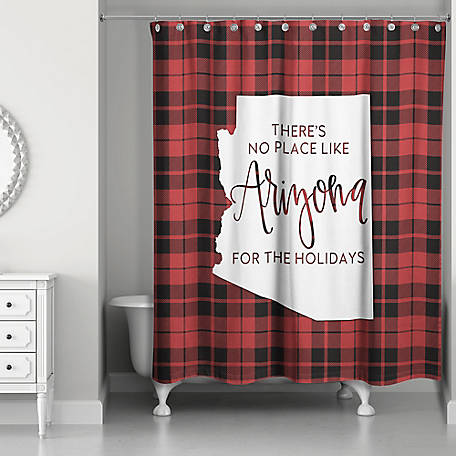 Designs Direct Arizona Holidays Shower Curtain, 5897-AD