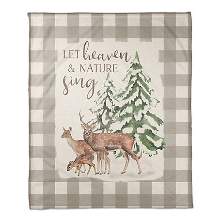 Designs Direct Let The Heavens Sing Throw Blanket, 5814-AZ