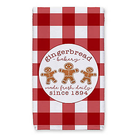 Designs Direct Gingerbread Bakery Towel, 5868-AU
