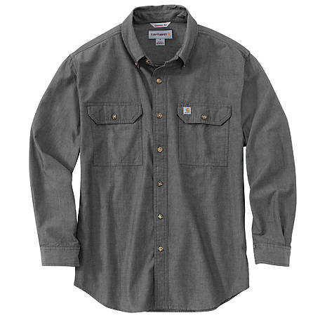 Carhartt Men's Long Sleeve Original Fit Garment Solid Shirt