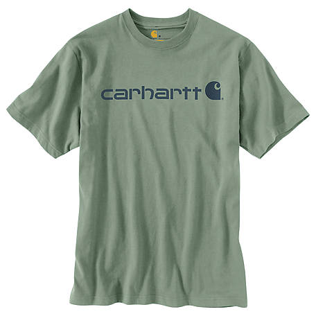 Carhartt Men's Short Sleeve Logo T-Shirt, K195