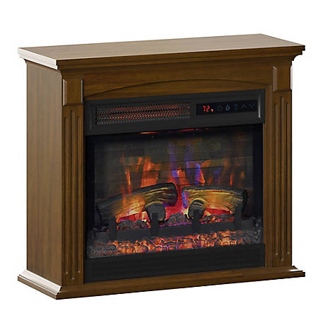 Duraflame Wall Mantel Electric Fireplace, 120154