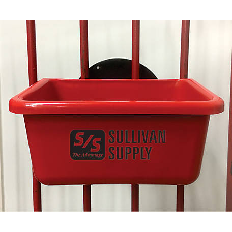 Sullivan Supply EZ Hang Feeders Pipe Fence Red, EZHP