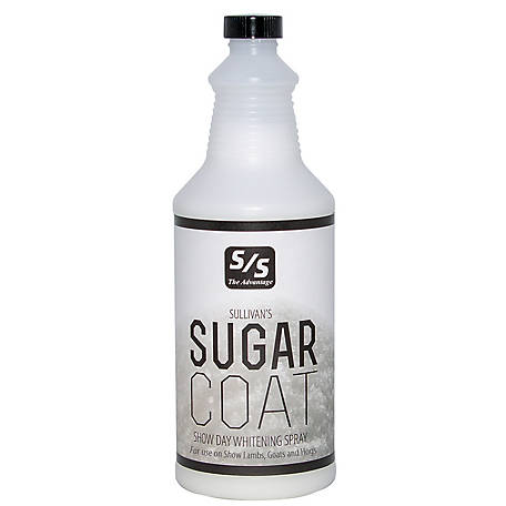 Sullivan Supply Sugar Coat Natural Show Day Whitening Spray, SUGQ