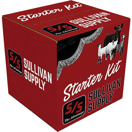 Sullivan Supply Starter Kits Cattle Grooming, STPC1
