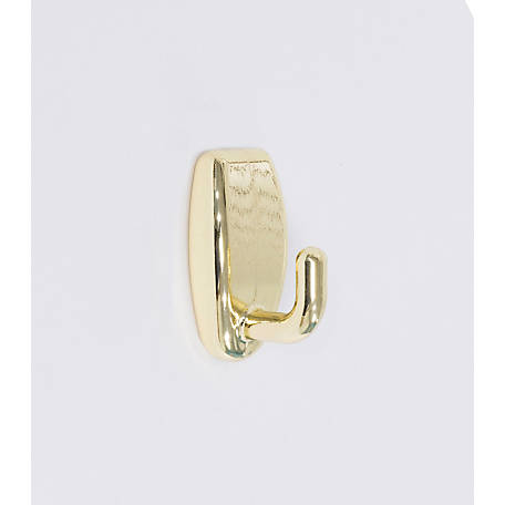 Hangman Snap Hook, Bright Brass Gold, 2 Pack, SH-BR-2PK