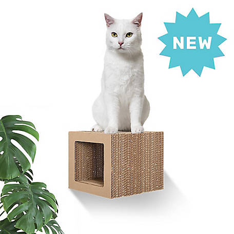Hangman Floating Cat Scratcher Cube Calico, FCS-C, FCS-C