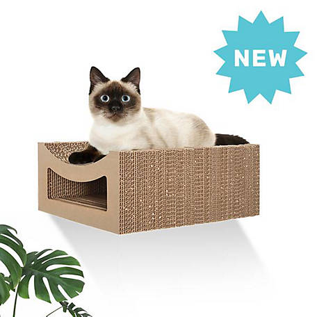 Hangman Floating Cat Scratcher with Scoop Tabby, FCS-T, FCS-T